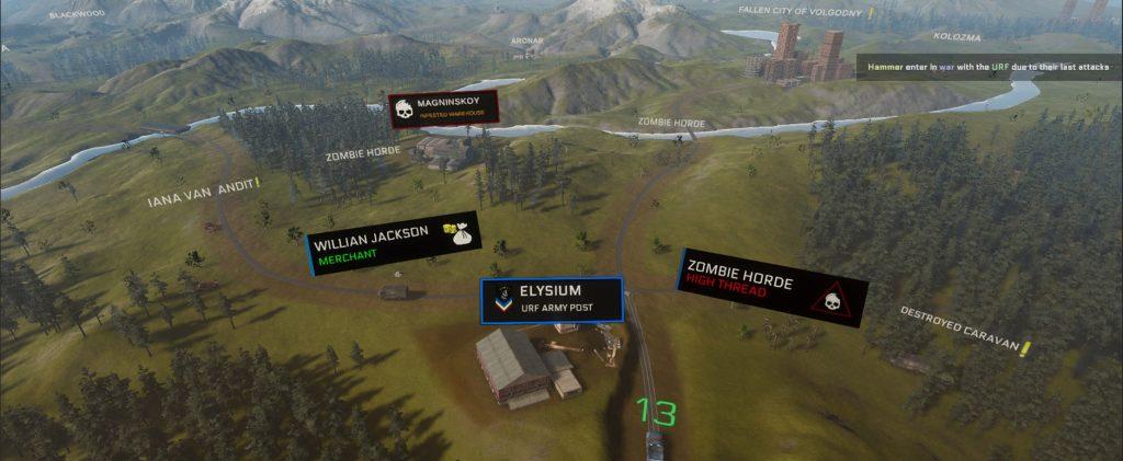 Fallnation Gameplay Worldmap